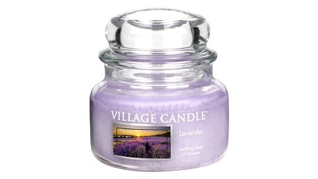 Village Candle Vonná svíčka ve skle, Levandule - Lavender, 269 g, 269 g