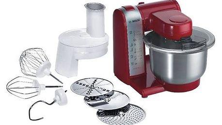 Kuchyňský robot Bosch MUM48R1 červený + Doprava zdarma