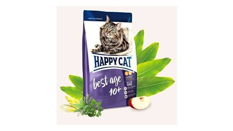 Granule HAPPY CAT Best Age 10+ - Senior 4 kg