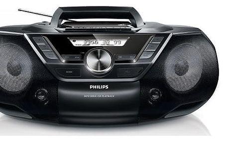 Radiomagnetofon s CD Philips AZ787 (AZ787/12) + DOPRAVA ZDARMA