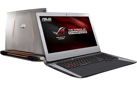 ASUS G752VS(KBL)-BA289T, šedá + 4K Content & Creativity Software