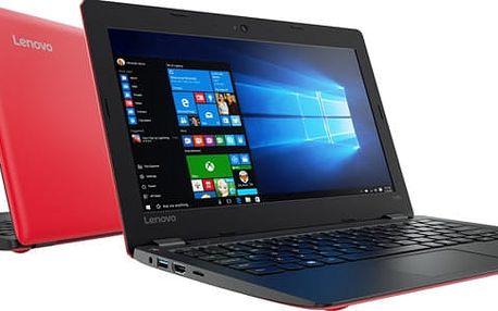 Lenovo IdeaPad 110S-11IBR, červená - 80WG008ECK