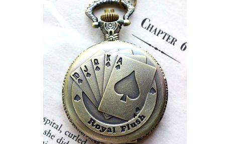 Kapesní hodinky Royal Flush