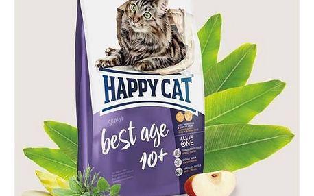 Granule HAPPY CAT Best Age 10+ - Senior 4 kg