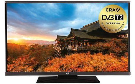 Televize JVC LT-24VH43J černá + DOPRAVA ZDARMA