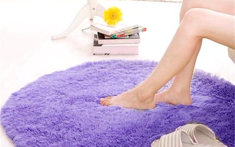 Kulatý koberec - 5 barev