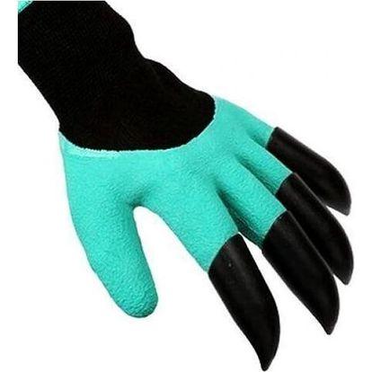 Rukavice na zahradu - ostré prsty