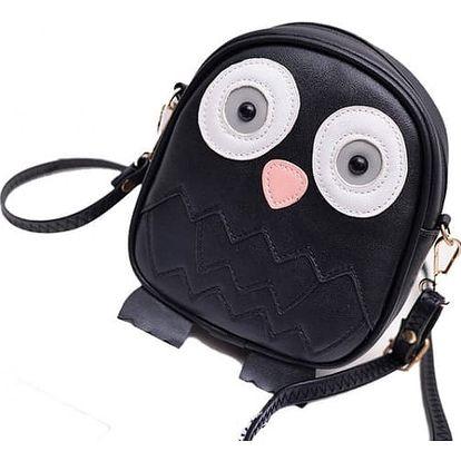 Dívčí mini kabelka v podobě sovičky