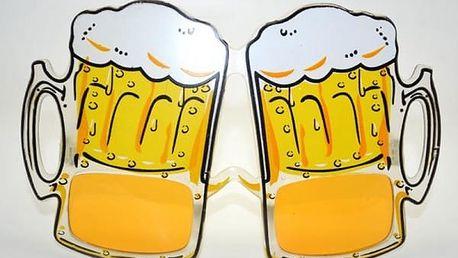 Pivní párty brýle