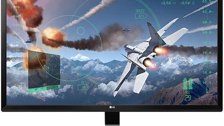 """LG 24UD58-B - LED monitor 24"""" - 24UD58-B.AEU + Herní myš A4tech Bloody V8 core 3 (v ceně 599 Kč)"""