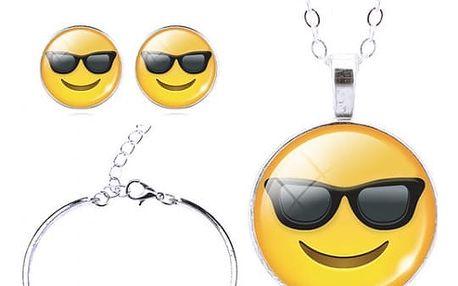 Emoji set šperků - 13 variant