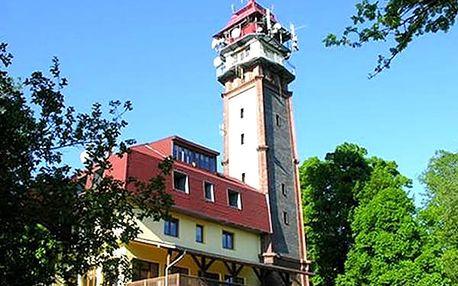 Pobyt s polopenzí v penzionu Vyhlídka s rozhlednou s platností do června 2018 včetně Silvestra.