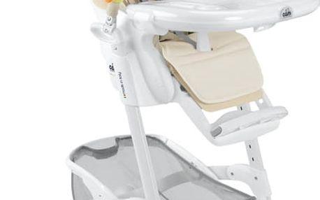 CAM Jídelní židlička Istante chrom - medvídek, col. 219