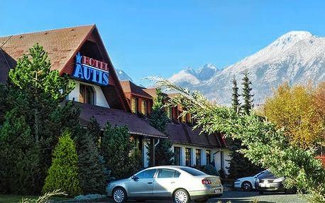 3 až 6denní wellness pobyt pro 2 v hotelu Autis ve Vysokých Tatrách