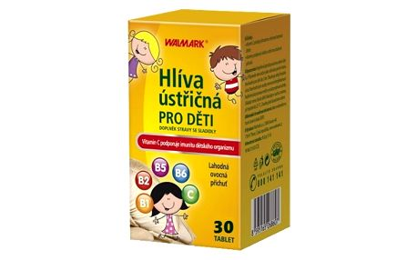 Walmark Hlíva ústřičná pro děti tbl.30
