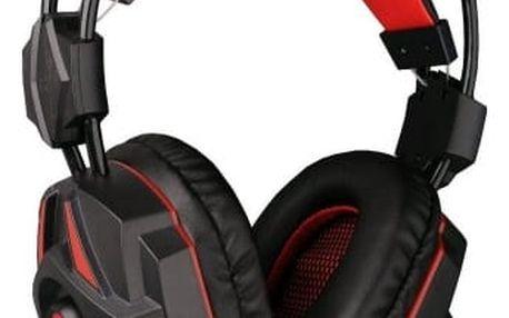 C-Tech Raiden (GHS-03R), černo-červená