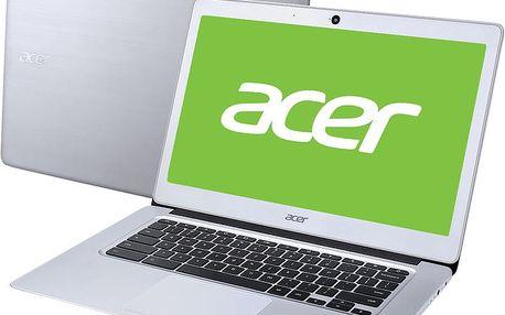 Acer Chromebook 14 (CB3-431-C1RS), stříbrná - NX.GC2EC.003