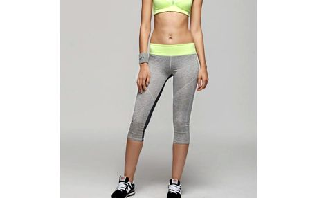 Dámské fitness tříčtvrteční kalhoty