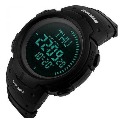 Pánské digitální hodinky s kompasem