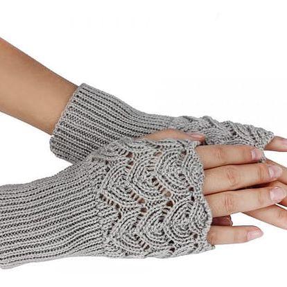 Pletené rukavice - 7 barev