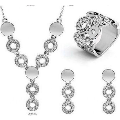 Sada šperků - náhrdelník, náušnice, prstýnek