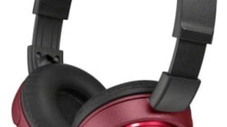 Sluchátka Sony MDRZX310R.AE (MDRZX310R.AE) červená