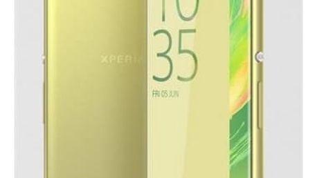 Mobilní telefon Sony XA (F3111) - Lime Gold (1302-4671)