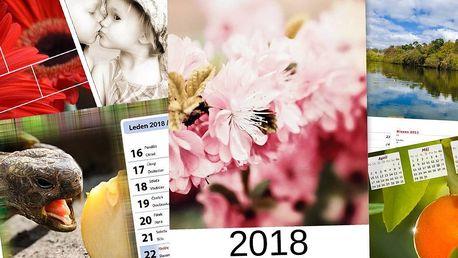 Vytvořte si kalendář z vlastních fotografií