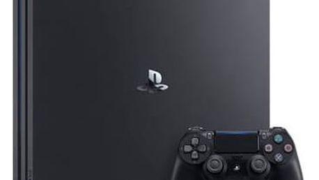Herní konzole Sony PlayStation 4 PRO 1TB (PS719887256) černá Gamepad Sony Dual Shock 4 pro PS4 v2 - černý (zdarma) + Doprava zdarma