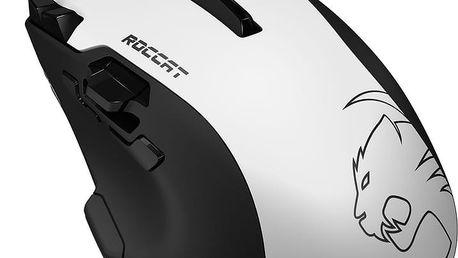 ROCCAT Tyon, bílá - ROC-11-851 + Podložka pod myš CZC G-Vision Dark v ceně 199,-