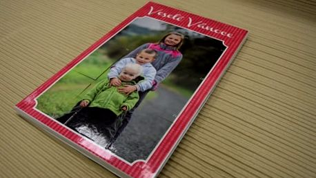 Adventní kalendář z vlastních fotek, pošta v ceně
