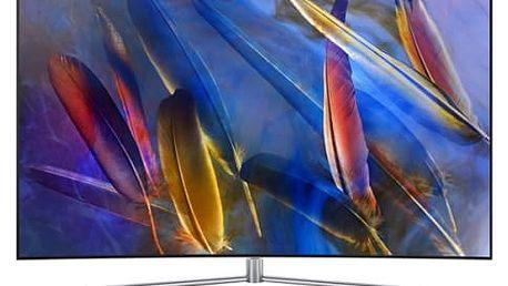 Televize Samsung QE65Q7C stříbrná