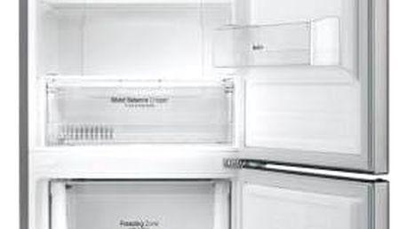 Kombinace chladničky s mrazničkou LG GBB59PZJZS nerez + Doprava zdarma