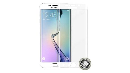 Screenshield ochrana displeje Tempered Glass pro Samsung Galaxy S6 Edge (SM-G925F), stříbrná - SAM-TGSG925-D