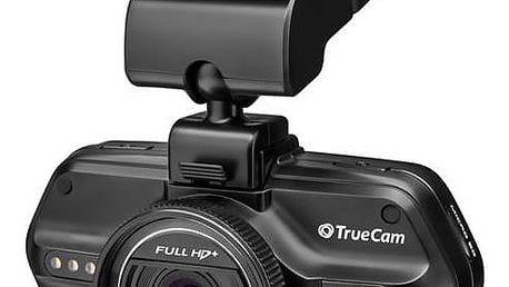 Autokamera TrueCam A7S černá Reflexní vesta TrueCam, žlutá (zdarma) + Doprava zdarma