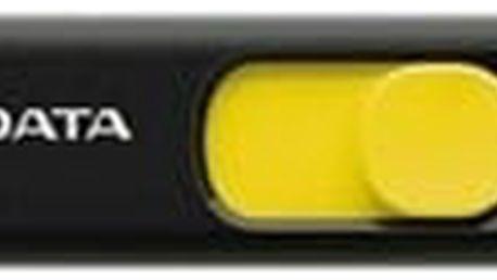 ADATA UV128 32GB, černožlutá - AUV128-32G-RBY