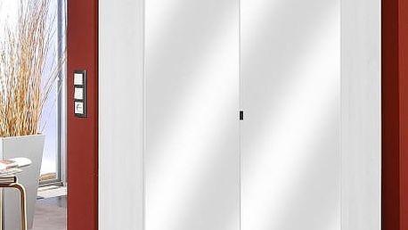 Imago7 - Šatní skříň, 95/198/95 (rohová, alpská bílá)