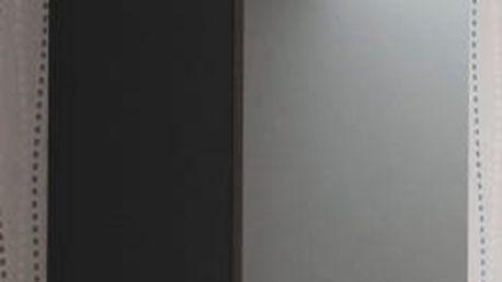 Livo - Závěsná skříňka 120 (černá mat/černá lesk)