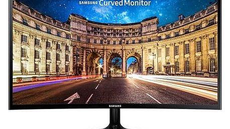 Monitor Samsung C27F390FHUX/EN (LC27F390FHUX/EN) černý + Doprava zdarma