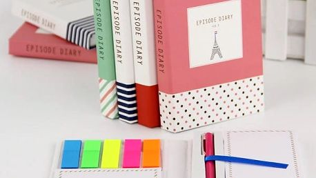 Zápisníček s Eiffelovou věží