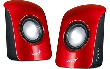 Reproduktory Genius SP-U115 2.0 (31731006101) červená