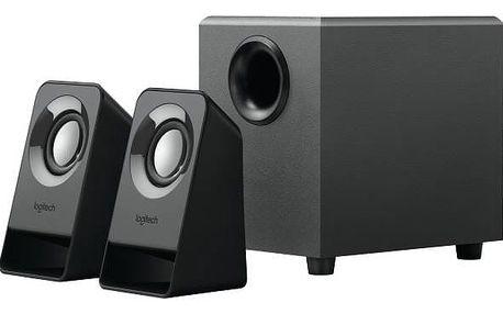 Reproduktory Logitech Z211 Compact (980-001269) černé + Doprava zdarma