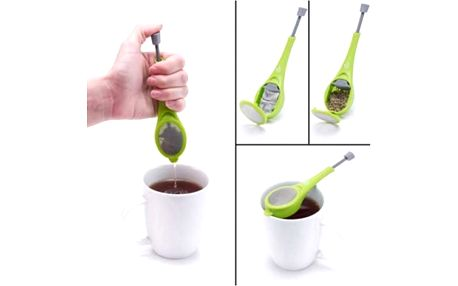 Speciální sítko na čaj Push