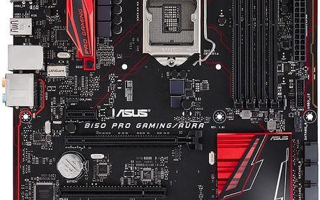 ASUS B150 PRO GAMING/AURA - Intel B150 - 90MB0PF0-M0EAY0