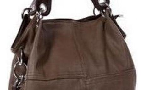 Dámská kabelka pro každodenní nošení - Tmavě hnědá
