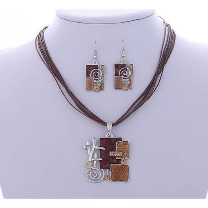 Set šperků v orginálním africkém designu