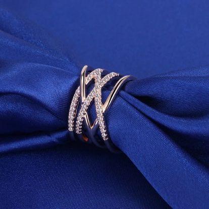 Elegantní prstýnek s nastavitelnou velikostí - dodání do 2 dnů