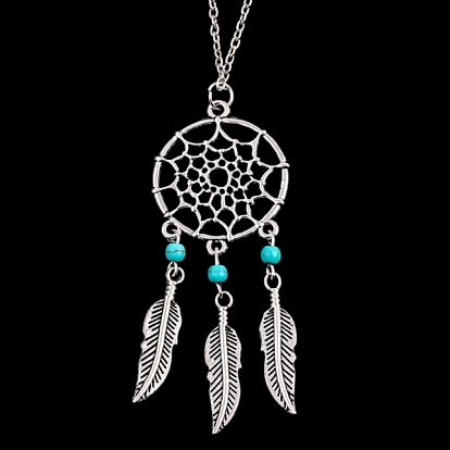 Lapač snů - náhrdelník