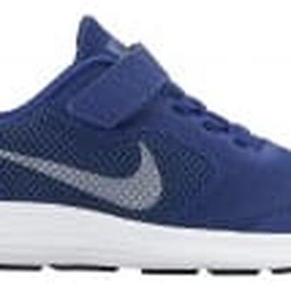 Dětské boty Nike REVOLUTION 3 (PSV) 31,5 DEEP ROYAL BLUE/MTLC COOL GREY