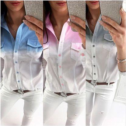 Dámská ombré košile Alina